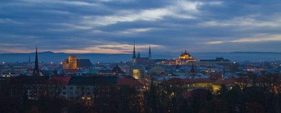 Olomouc, República Checa: Výhled z hotelu Flora