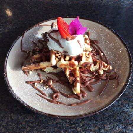 Belmont, Australia: Nutella Waffles
