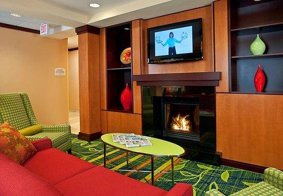 Exeter, Nueva Hampshire: Lobby Sitting Area