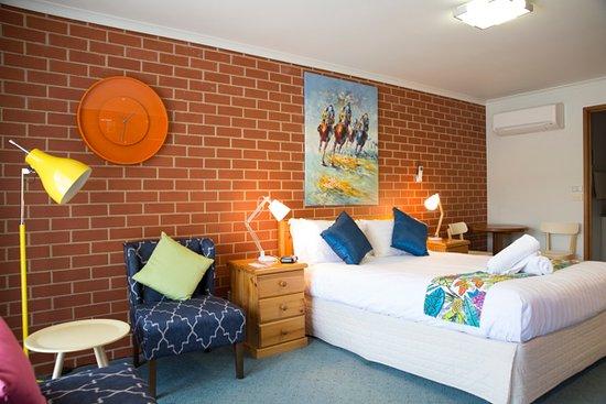 Yackandandah, أستراليا: Queen deluxe room