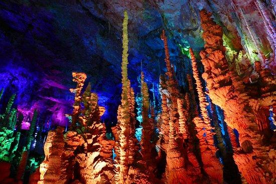 Meyrueis, France: Forêt de stalagmites