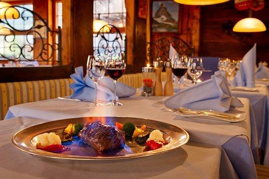 Hotel Aristella swissflair: Restaurant Spycher