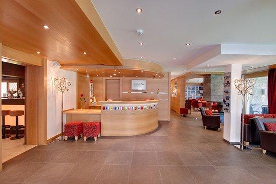 Hotel Aristella swissflair: Lobby