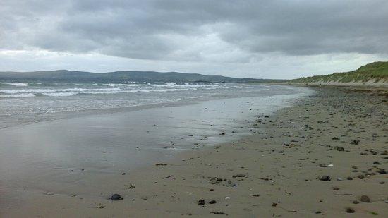 Ardfert, Irland: La belle plage de Banna beach