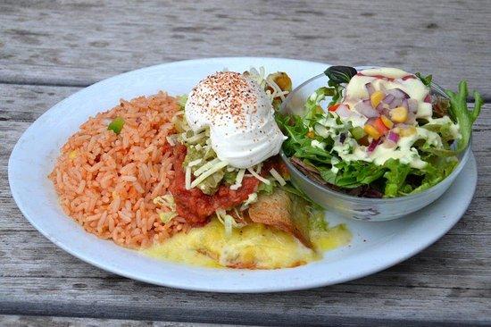 Ocean Grove, Australia: Seafood Burrito