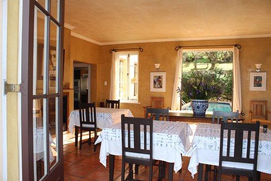 Betty's Bay, Güney Afrika: Dinning room