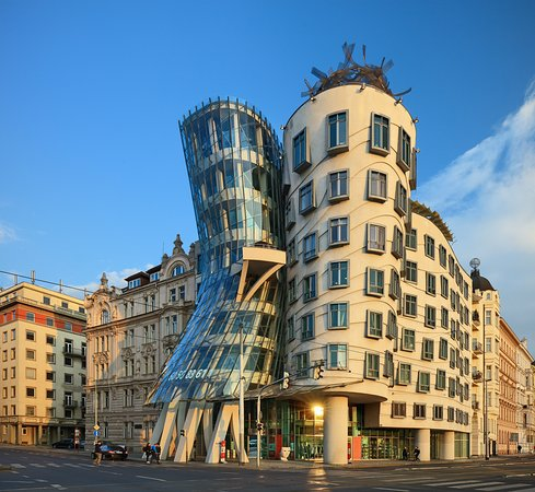 Dancing house hotel now 109 was 1 3 8 updated for Hotels in prague 1