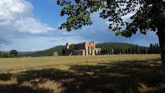Кьюсдино, Италия: pianure senesi