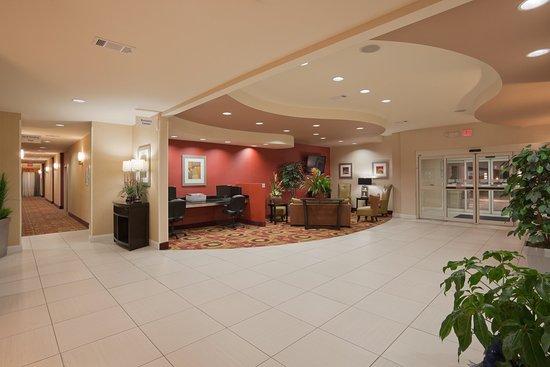 Winona, Mississippi: Hotel Lobby