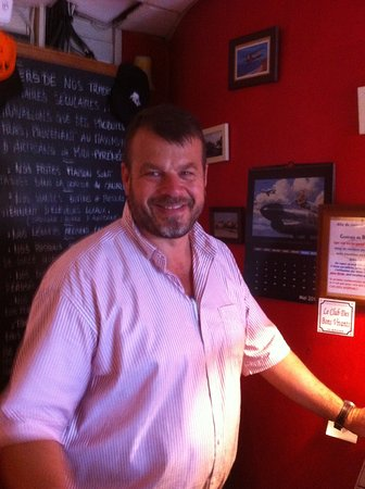 Blagnac, Frankrijk: Le boss. Belle carrure (!) et absolument sympathique !