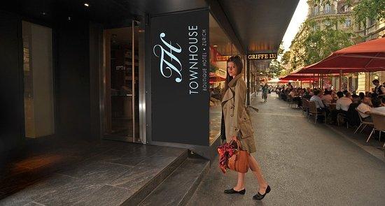 Townhouse Boutique Hotel: Exterior