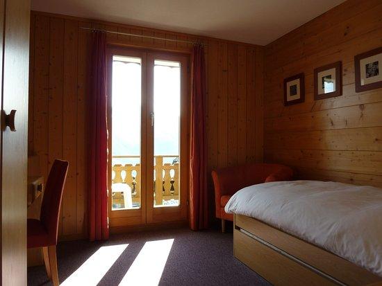 เบตต์เมราล์ป, สวิตเซอร์แลนด์: Single room southern view