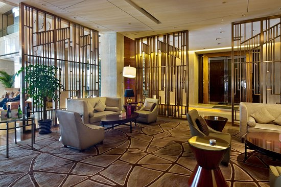 Xiangyang, China: Lobby Lounge