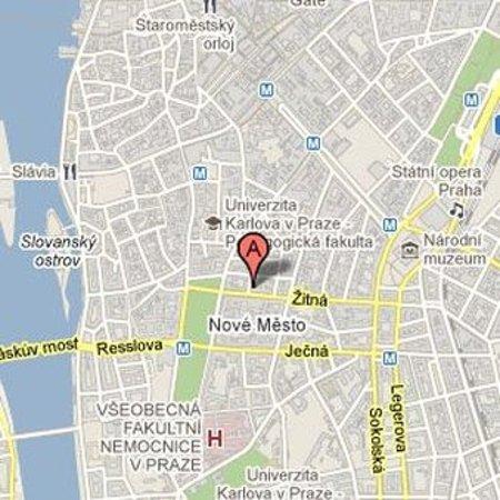 Location, Prague 1, Hotel Suite Home Prague