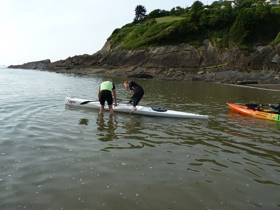 Combe Martin, UK: Mark Ressel paddle instuctor