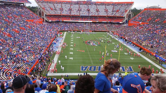 Florida Gators Football Game Picture Of Ben Hill Griffin Stadium