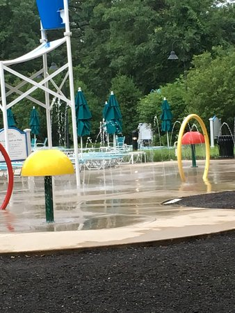 Absecon, NJ: Resort activity sample calendar-great choices! Splash pad is a lot of fun. The Eagle Building-3