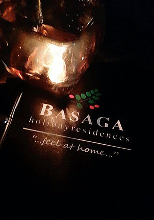 Basaga Holiday Residences: Romantic place to dine in♥