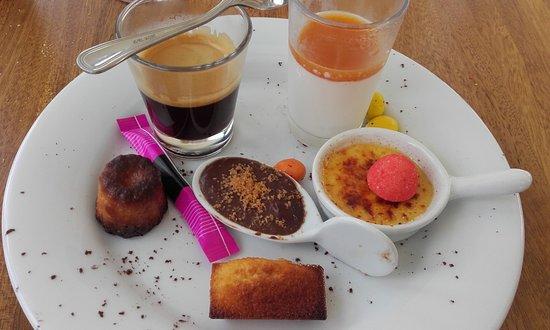 Saint-Jean-d'Illac, Francia: Café gourmand