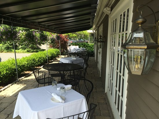 Woodbury, CT: Our patio