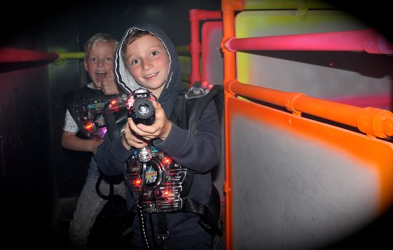 Laserforce at Quasar Amusements