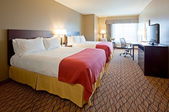 Two Queen Bed Guest Room at Holiday Inn Eau Claire South