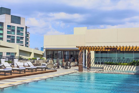 Ascott Makati: Relax, reconnect or just take a dip in our outdoor pool