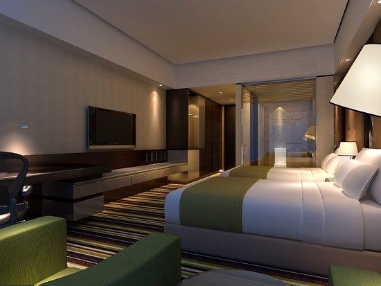 Nantong, China: Double Bed Guest Room