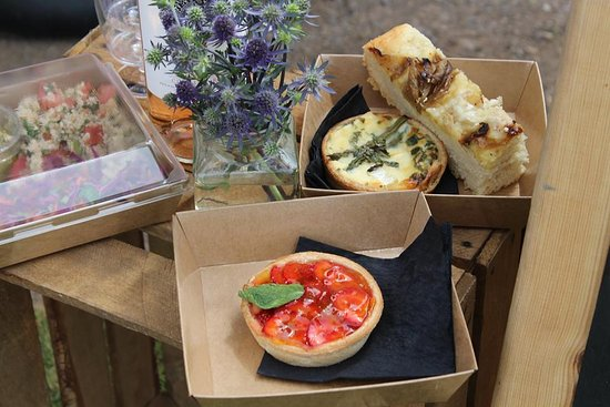Kingsbridge, UK: Salad Boxes