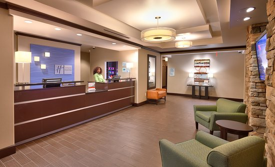 Lobby, Holiday Inn Express & Suites, Overland Park, Kansas