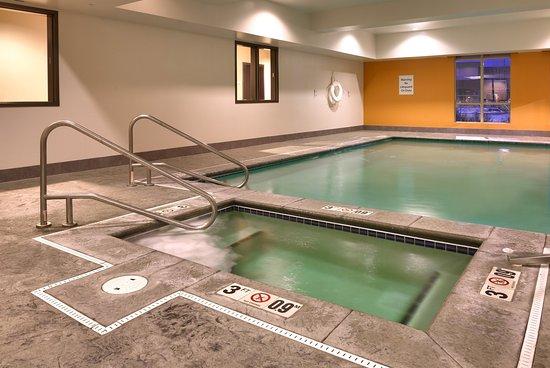 Pool & Hot Tub-Holiday Inn Express & Suites, Overland Park, KS