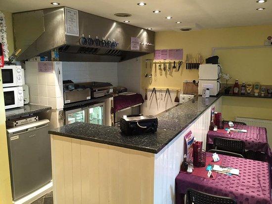 Conisbrough, UK: Our Kitchen....