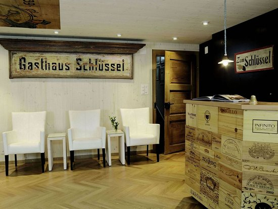 Boutique Hotel Schluessel: Lobby