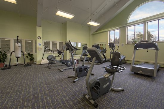 Brownsville, VT: Stay on track and in shape in the fitness center while on vacation