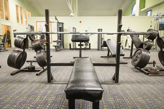 Brownsville, VT: Enjoy working out in the fitness center at the resort