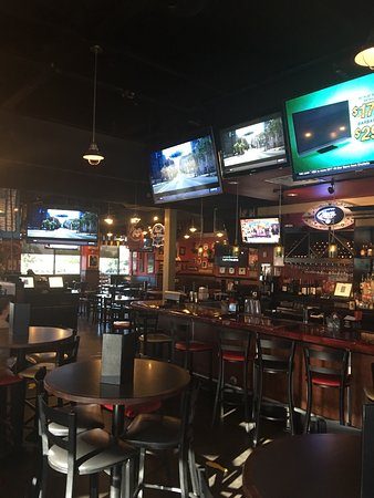 Great Bar, great food, plenty of Tv's, open early, and open late. A good time surrounded by frie
