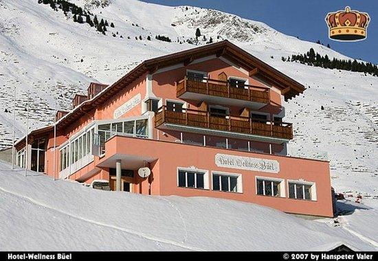 St. Antonien, Schweiz: Hotel winter
