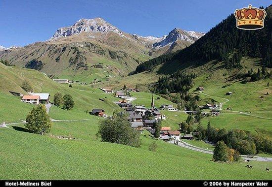St. Antonien, Schweiz: St. Antönien in summer