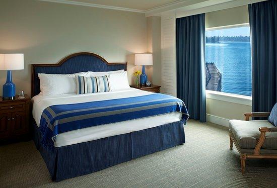 Kirkland, Ουάσιγκτον: Woodmark Hotel_Guest Room_Executive Lake Washington Suite