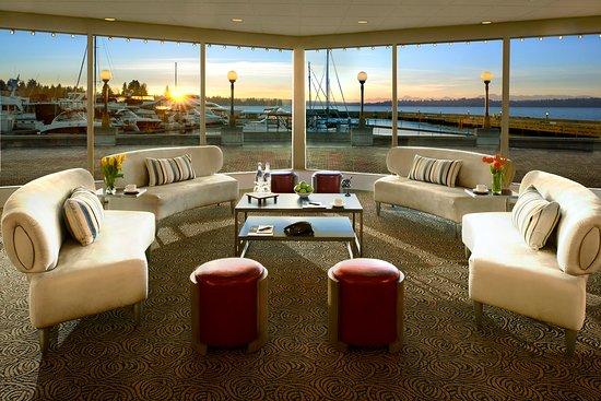 Kirkland, Ουάσιγκτον: Woodmark Hotel_Meetings & Events_Bayshore Room