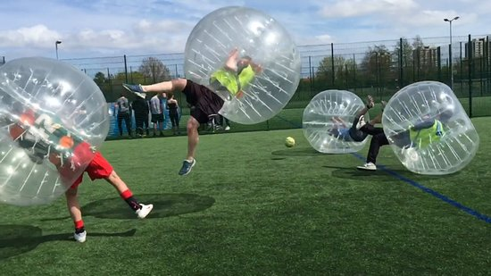 NE Bubble Football