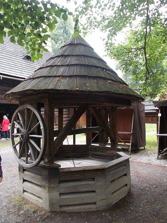 Roznov pod Radhostem, Czech Republic: Valašské muzeum v přírodě - Městečko - studna