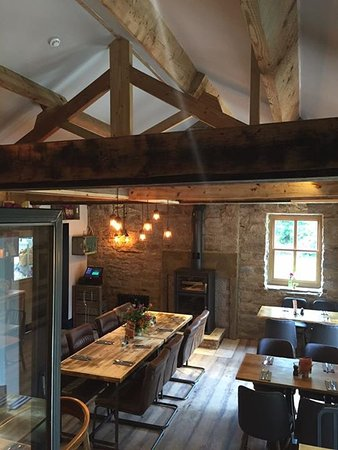 Calver, UK: Old Barns - Now Restaurant Dining