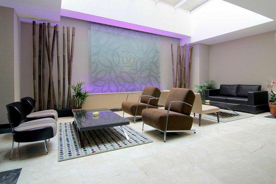 Galerias Hotel: Lounge area