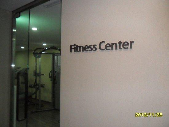 Seongnam, Sydkorea: Fitness club