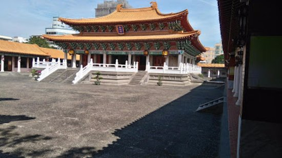 Hsinchu, Taïwan : The Confucian temple and inner court