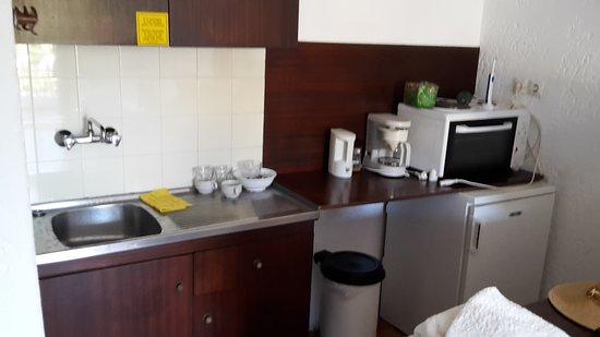 Amazona Apartments: Kök