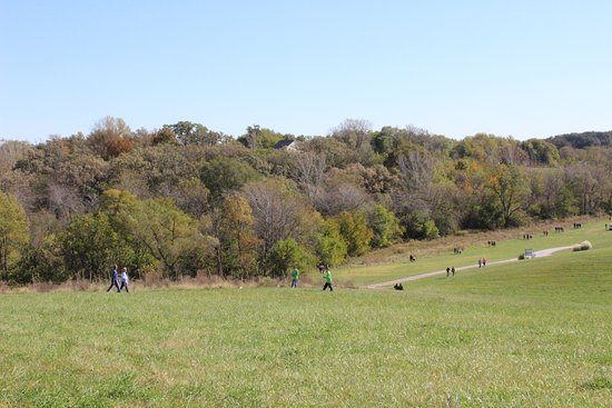 Coal Valley, IL: View of the valley
