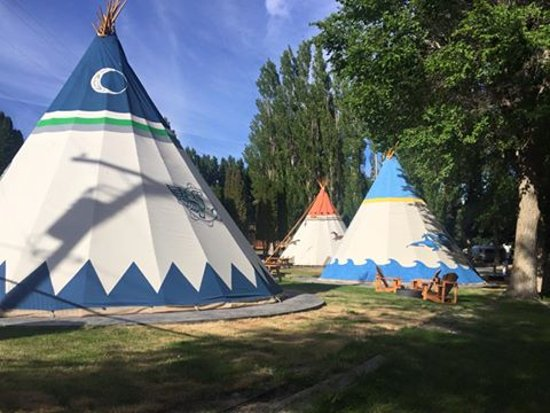 Soap Lake, WA: Park Family Tipi Village