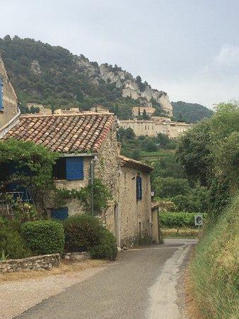 Seguret, Francia: De omgeving en het eten